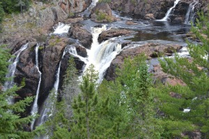 water - Aubry Falls