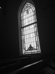 CCC window B&W