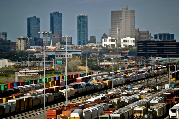 Railroad Yard - Fort Worth Texas