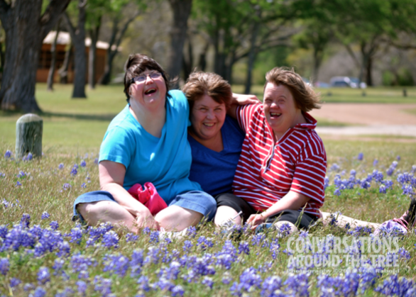 """The Girls"" in the bluebonnets"