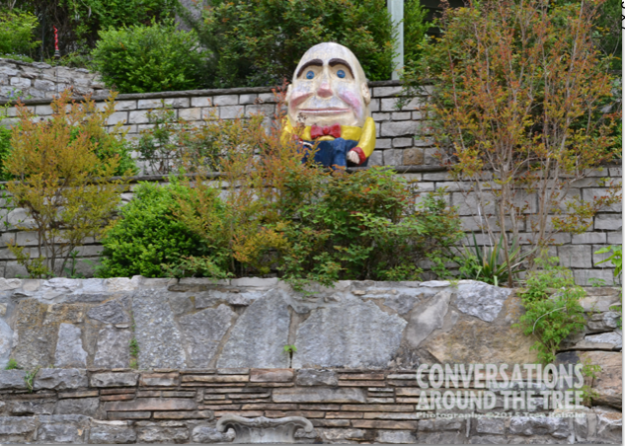 Humpty Dumpty over looks Eureka Springs Arkansas