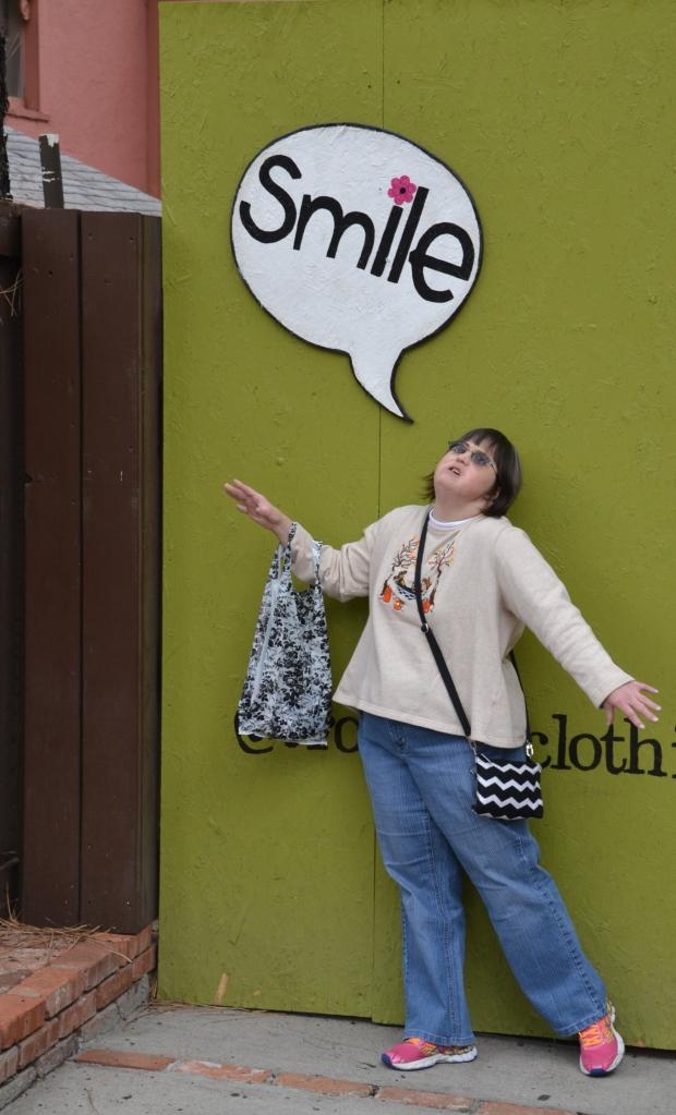 Sonya smile