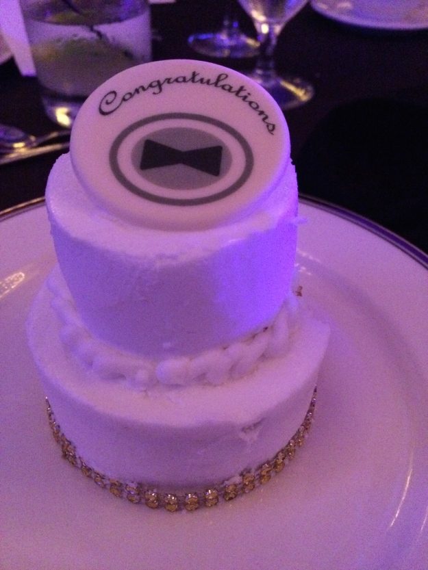 Individualized Wedding Cake