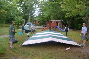 Tent construction